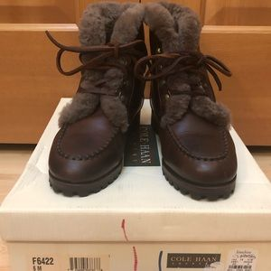 Cole-Haag country fur boots